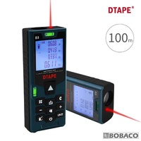 【大船回港】D3激光半自動三合一測距儀-100M/附電池(裝潢測量機器/紅外線測量/建築/鐵路/工程/量身高)