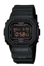 Casio G-shock DW5600MS-1CR G-Force Military Concept Black Digital Men's Watch