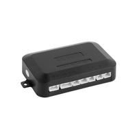 Wishmall Car Reverse Radar Reverse Radar Smart Car Alarms Black 4 Parking Sensors Flat Sensors