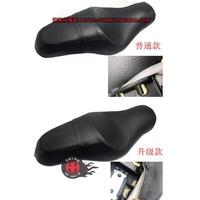 【現貨】摩托車哈雷XL883/1200 改裝坐墊 雙人座墊 前後壹體坐墊連體坐