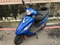 【幽浮二手機車】KYMCO GP125 藍色 2017年 【1500元即可騎走! 分期優惠專案實施中!】