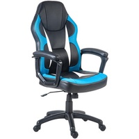 US Exclusive Merax Office Chair Gaming Chair Racing Style Computer Chair Ergonomic PU Leather Swivel Chair Folding Chair for Home and Office