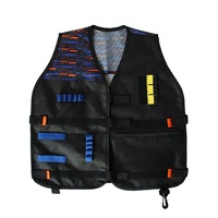 SHOPSO yunmiao Kids Thicken Tactical Vest Outdoor Team Game Accessories for Nerf Guns N-Strike Elite Series