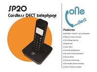 Brand New One Dect SP-20 Cordless Dect Phone. Out of Range Warning/ Keypad Lock/ Alarm/ Secrecy.