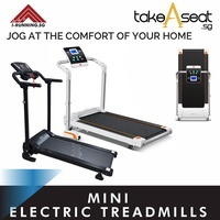 I-running Mini motorized exercise treadmill foldable slide even below your bed!