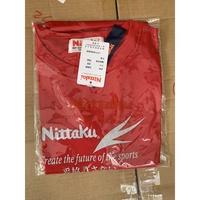桌球孤鷹~~正品Nittaku球衣~型號3465紅色 新品到貨