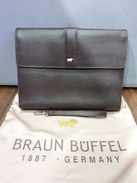 Braun Buffel Tiberio Document Clutch Bag