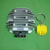 誼騰 R300 整流器 + 鑰匙圈(灰黃紅)