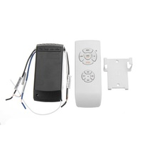 Remote Controll Switch Lamp Kit and Timing Wireless Remote Control For Ceiling Fan Light Lamp