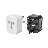 Travel Adapter Universal Power Adapter with 2 USB Ports Wall Charger AC Power Plug