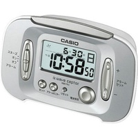 Inventory specials Casio CASIO small bedside alarm clock clock time date display package mail