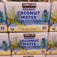 有發票 好市多代購 Kirkland 有機椰子水 椰子汁 椰水 椰汁 (330ml*12入)