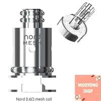[#พร้อมส่ง] SMOK Nord Coil 0.6 Vapesoon Mesh ** ราคาต่อ 1 คอย ** , Nord & Trinity coil Nord Coil 0.6 Mesh Replacement