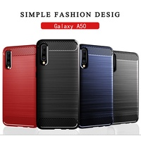 Samsung Galaxy A50 Case Silicone Rugged Armor Soft Cover Case