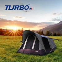 【 Turbo Tent 】Tourist 270 單件式ㄧ房一廳六人帳(速搭帳 全新版 )