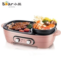 Bear Dhg-B15A1 Electric Hot Pot Multi-Function Non-Stick Oven Dormitory Electric Oven Home Barbecue Roast