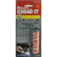 SELLEYS Knead It Steel Epoxy Putty 070109
