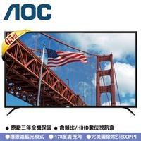 美國AOC 65型 4K UHD+智慧聯網 淨藍光液晶顯視器 65U6080