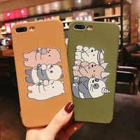 We Bare Bears Tpu Case Silicone Phone Cover OPPO R15 Pro R17