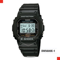 *APPLY SHOP COUPON* G-SHOCK BLACK RESIN WATCH DW5600E-1V.
