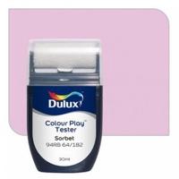 สีขนาดทดลอง Dulux Colour Play™ Tester - Sorbet 94RB 64/182