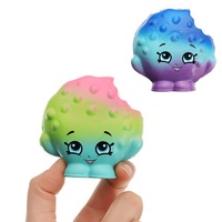 2Pcs Bite A Cookie Squishy 6.5*3.5cm Squishy Slow Rising Soft Collection Gift Decor Toy