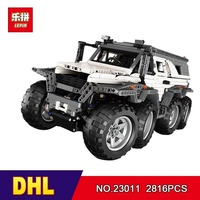 DHL lepin 23011 2861Pcs lepin Technic Series Off-road vehicle Model Building Kits Block Bricks Toy Compatible Toy5360