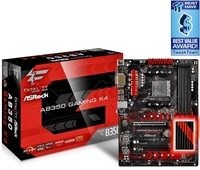 MAINBOARD (เมนบอร์ด) AM4 ASROCK Fatal1ty AB350 Gaming K4