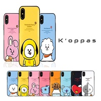 Official Kpop BTS BT21 Card Bumper Phone Case Cover For iPhone Samsung Galaxy