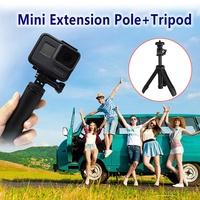 factory Mini Portable Tripods Shorty Handgrip Extension Pole Extendable Monopod Tripod Selfie Stick