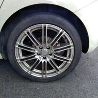 正Enkei17吋鋁圈輪胎,一組4個不拆賣