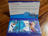 Frozen Magical Moments Ezlink card