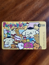 Pompompurin ezlink card let's party