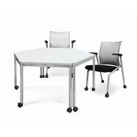 【JS214-02】 EMR梯形會議桌 #EMR-J1407RM-A