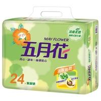 五月花 - 清膚柔潤抽取衛生紙-100抽x(20+4)包x3袋