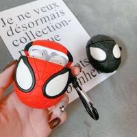【免運現貨】立體漫威蜘蛛人Airpods保護套 Airpods2代保護套 蜘蛛人 離家日 蜘蛛人 英雄遠征 防摔 放刮