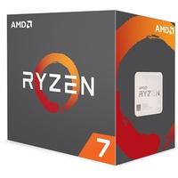 AMD 八核 Ryzen 7 2700X 盒裝 3.7GHz(Turbo 4.35GHz)/8C16T/快取20MB/105W/代理商三年保固