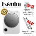 Haenim 3rd Generation UV Baby Sterilizer - Silver