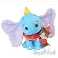 日本景品 SEGA Disney 迪士尼 小飛象 Dumbo 坐姿 趴姿 絨毛小飛象 正日貨 三款可選擇