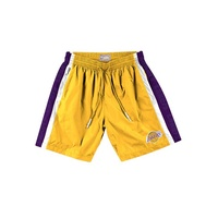 MITCHELL & NESS NBA PACKABLE NYLON SHORTS 尼龍球褲 湖人