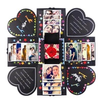 Creative Surprise Explosion Box DIY Photo Album Case for Wedding Valentine's Gift