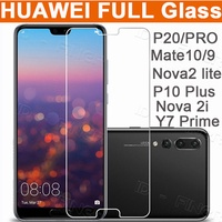 Huawei 3D Full Tmepered Glass case for Huawei P20 P20 Pro Mate 20 Pro P10 Mate9 Nova2 lite 2i 3i