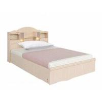 furnituredd เตียงนอน ขนาด 3.5 ฟุต รุ่น A4 ( สีไลท์โอ๊ค ) ไม่มีที่นอน