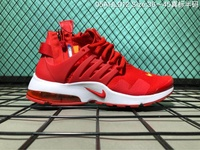 Off-White x Nike Air Presto Men's Running Shoe Fashion Sport Sneakers (Red)