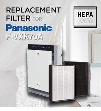 Compatible Replacement HEPA filter for Panasonic F-VXK70A