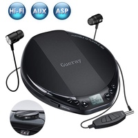Portable CD Player for Car HiFi Lossless Small CD Player with Headphone CD Discman Compact Disc Personal Walkman Player Shockproof Anti-Skip