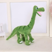The dinosaur figure floss toy Diplodocus toy figurine large puts green dinosaur of home adornment of a rag doll 55 cms - intl