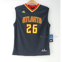 玉米潮流本舖 ADIDAS NBA ATLANTA Kyle Korver 26 15-16新款客場 青年版燙印球衣