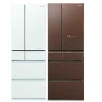 Panasonic國際牌【NR-F504HX-W1/NR-F504HX-T1】500公升六門變頻電冰箱(不參加原廠贈品活動)翡翠白