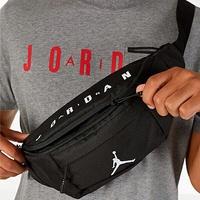 Shoestw【9A0242-023】NIKE AIR JORDAN 腰包 斜背包 側背包 胸包 大容量 黑色